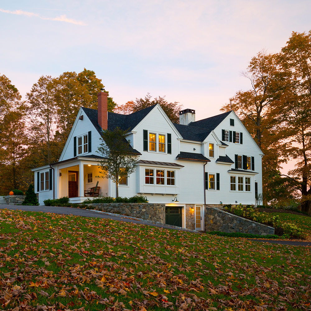 New england farm chase construction bringing dreams to for New construction farmhouse